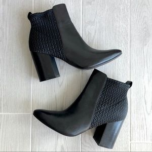 Cole Haan black leather Aylin Ankle booties